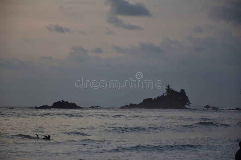 Costa Rica Surfer fotografia stock