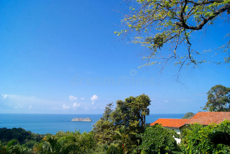 Costa Rica View immagine stock libera da diritti