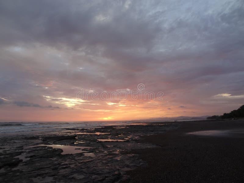 Costa Rican Clouds fotografering för bildbyråer