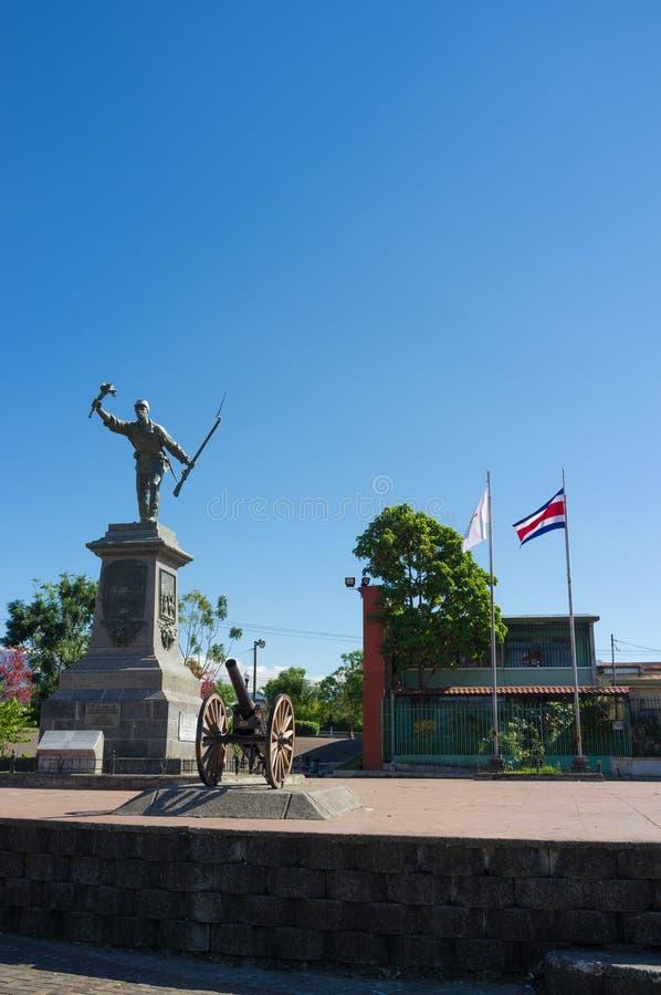 Costa Rican national hero royalty free stock photos