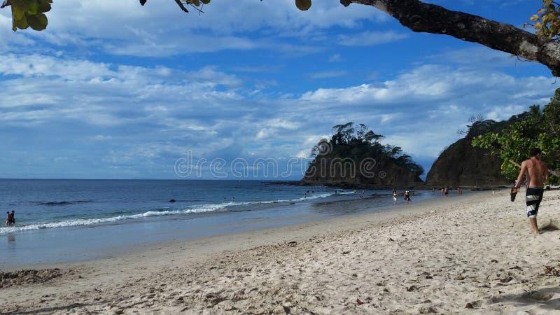 Costa Rican Plaża fotografia royalty free