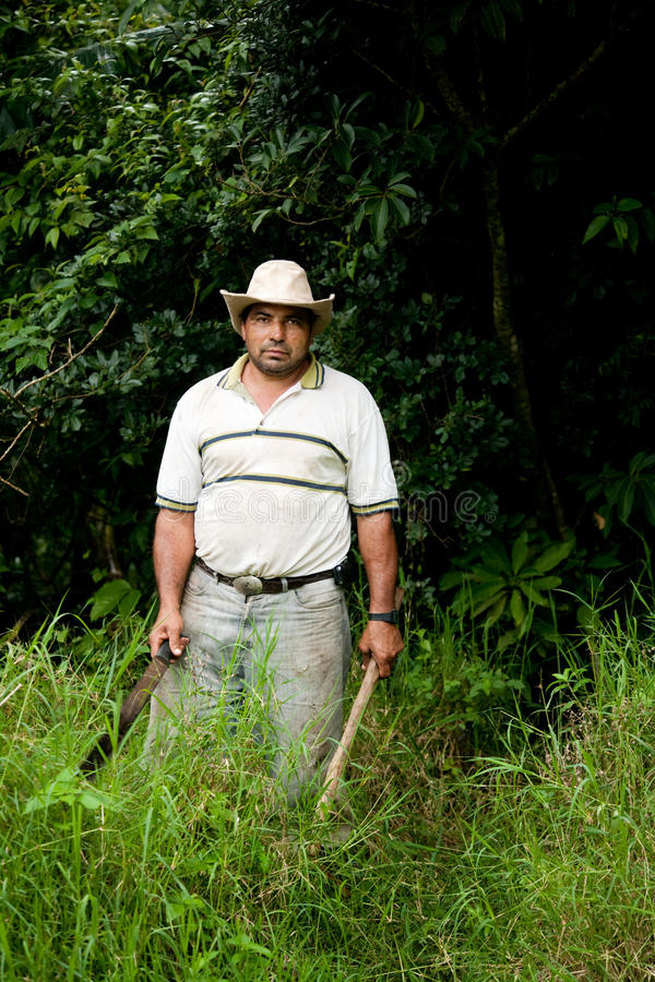 Free Costa Rican Ranch Hand Royalty Free Stock Photography - 15937057