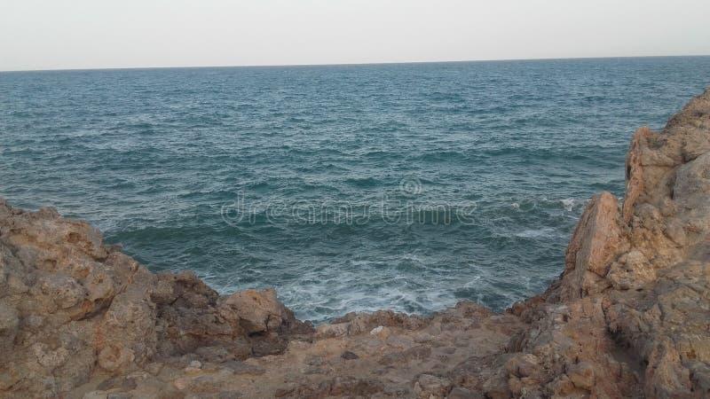 Costa rocciosa in Spagna fotografie stock