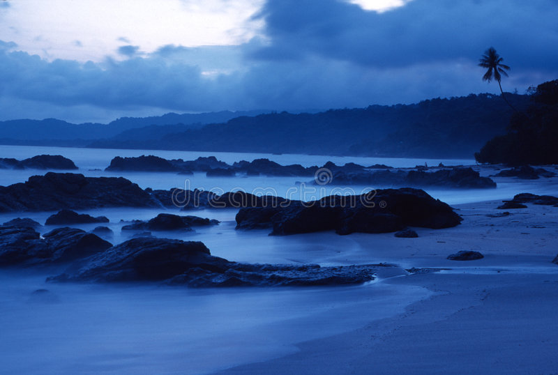 Costa Rochosa Foto de Stock Royalty Free