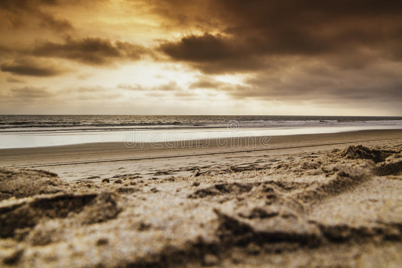 Costa Sea Front royalty-vrije stock afbeelding