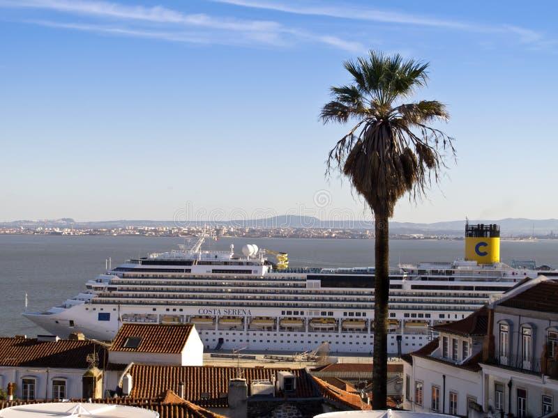 Costa Serena Cruise Ship imagem de stock