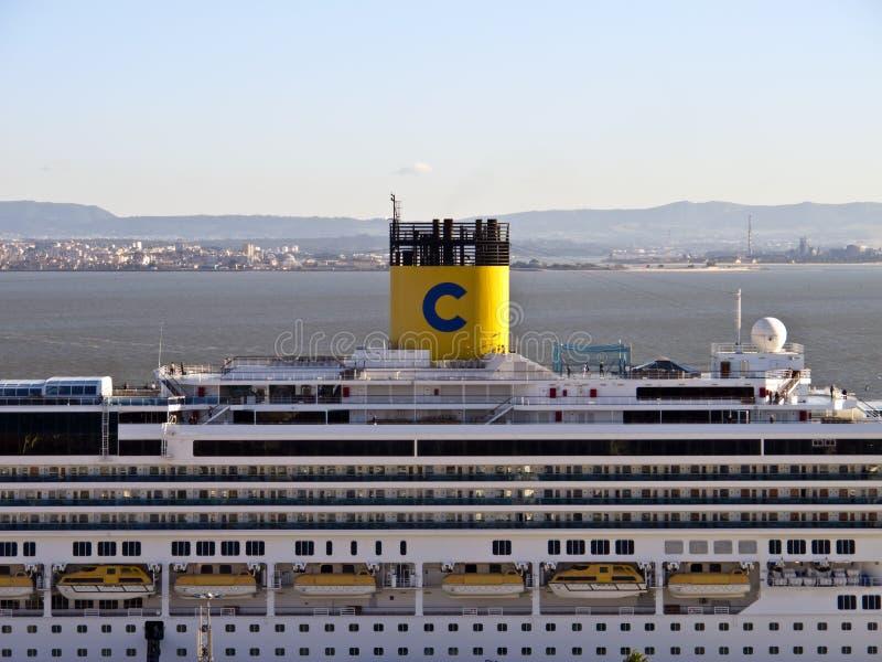 Costa Serena Cruise Ship fotos de stock