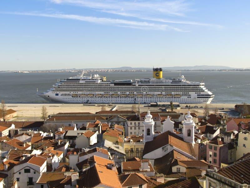 Costa Serena Cruise Ship fotografia de stock