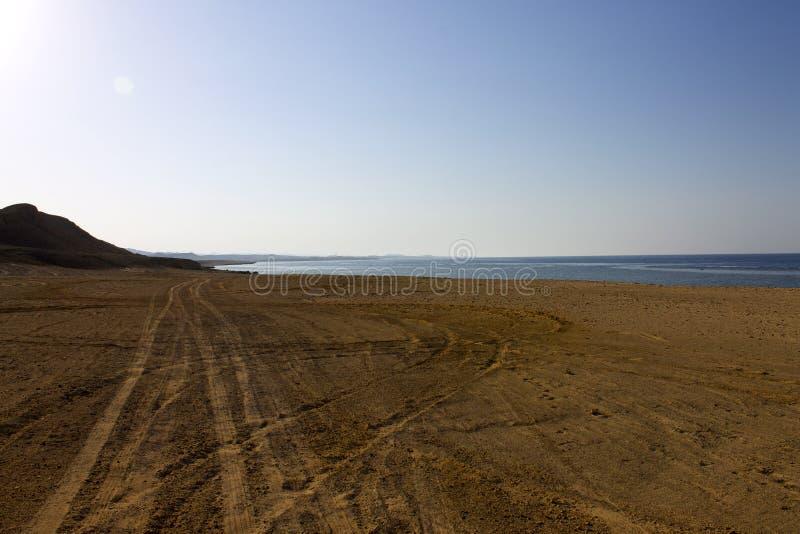 Costa sul do Mar Vermelho Egito Marsa Alam imagens de stock