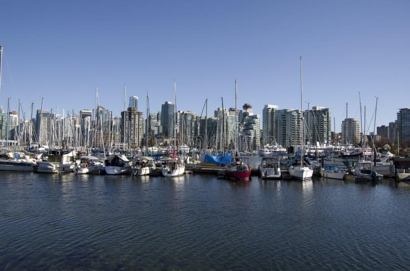 Costa Vancouver fotografía de archivo libre de regalías