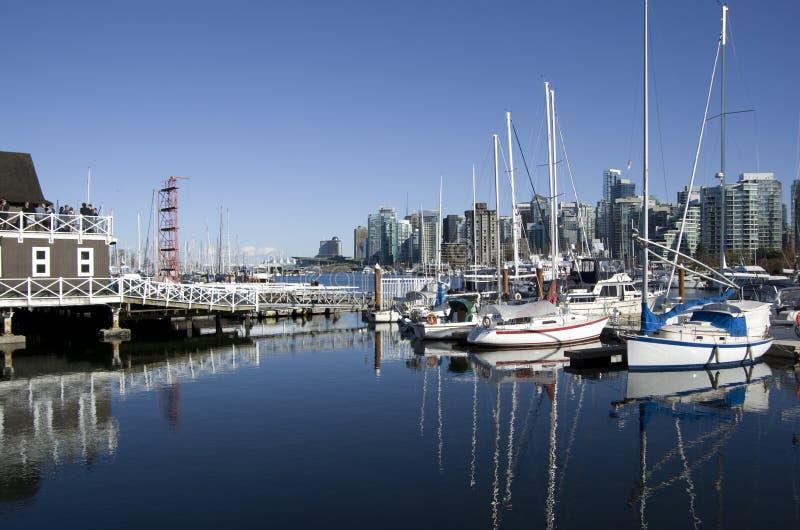 Costa Vancouver imagen de archivo