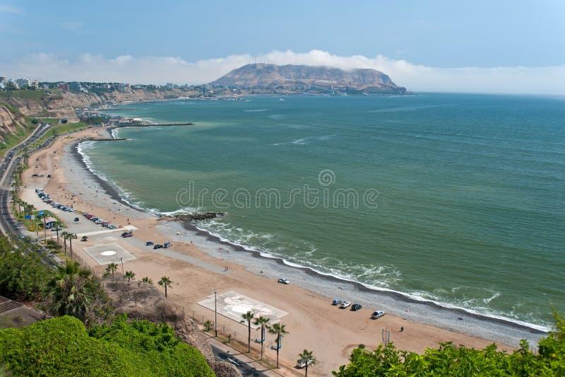 Costa Verde fotografia stock