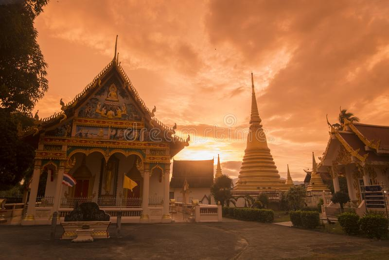 COSTA WAT BOT DE TAILANDIA CHANTHABURI fotos de archivo