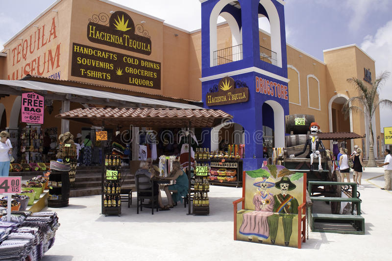 CostaMayaMexico souvenir! royaltyfri fotografi