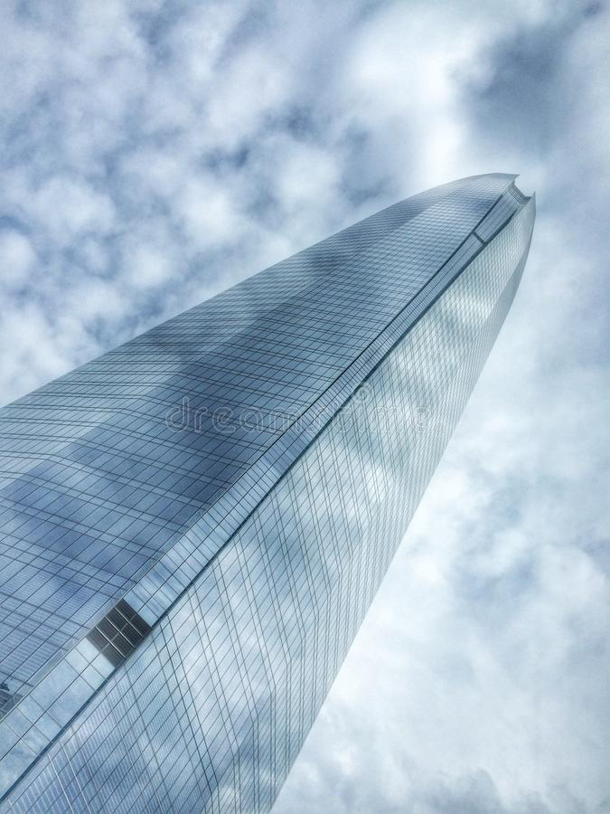 Costanera tower stock photography