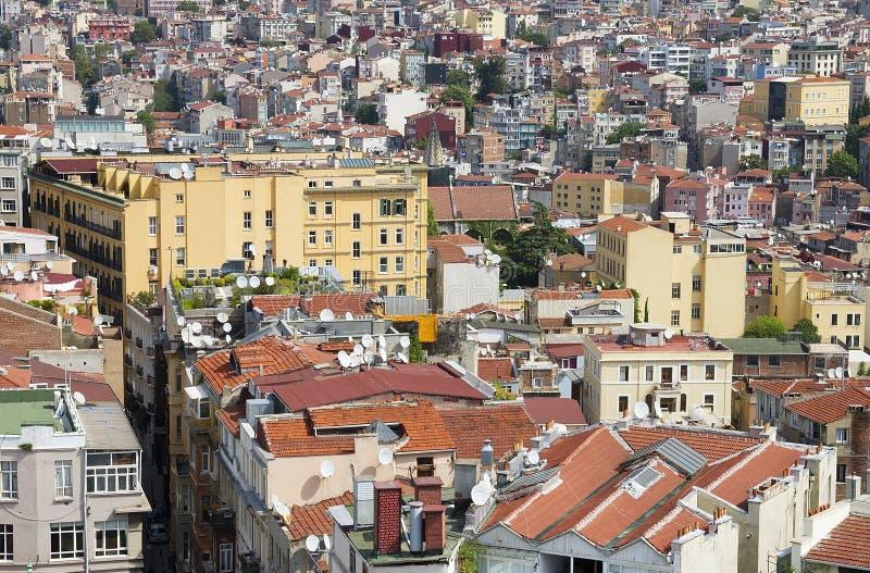 Costantinopoli del centro fotografie stock libere da diritti