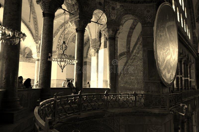 Costantinopoli Hagia Sophia immagini stock