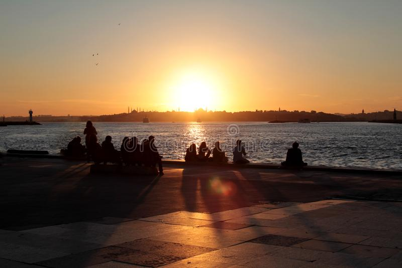Costantinopoli/Turchia fotografia stock