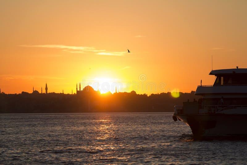 Costantinopoli/Turchia immagini stock libere da diritti