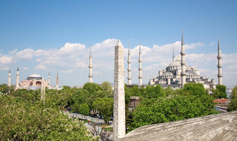 Costantinopoli, Turchia immagini stock