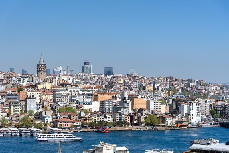 Costantinopoli Turchia Bosphorus immagine stock libera da diritti