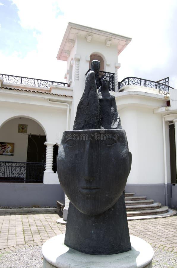Costarican muzeum sztuki plenerowe wystawy fotografia stock