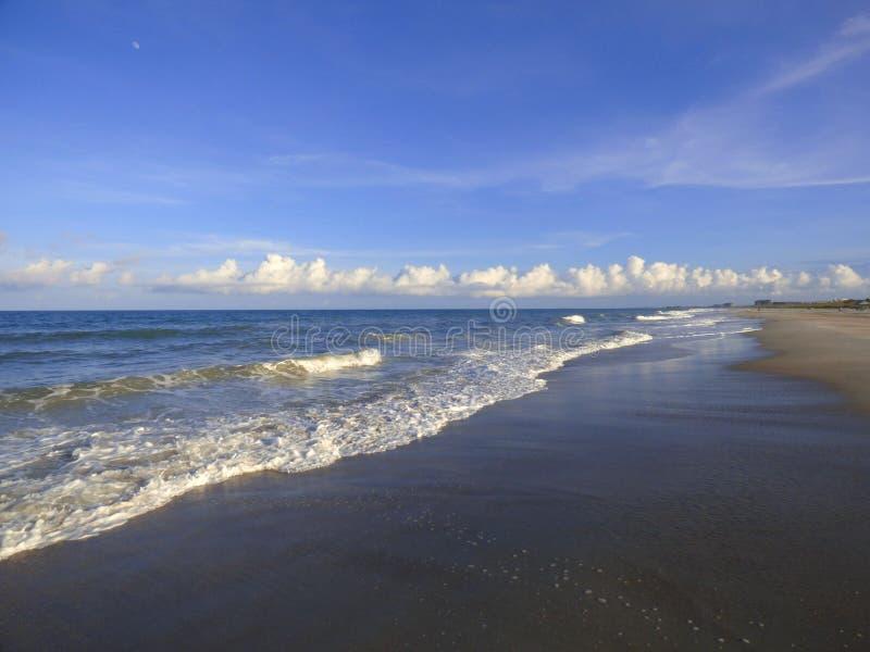Costas de Amelia Island fotografia de stock