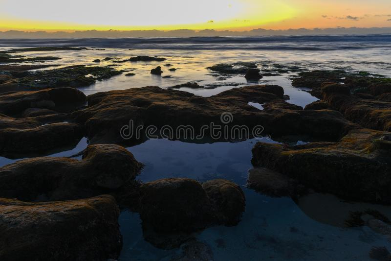Costas de La Jolla - San Diego, Califórnia imagens de stock royalty free