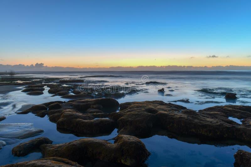 Costas de La Jolla - San Diego, Califórnia fotos de stock