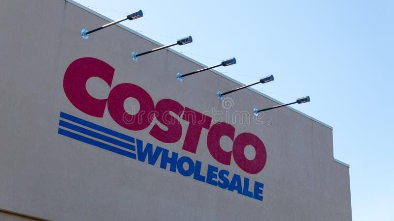 Costco Wholesale, Southwest Dartmouth Street, Tigard, OR stock photos