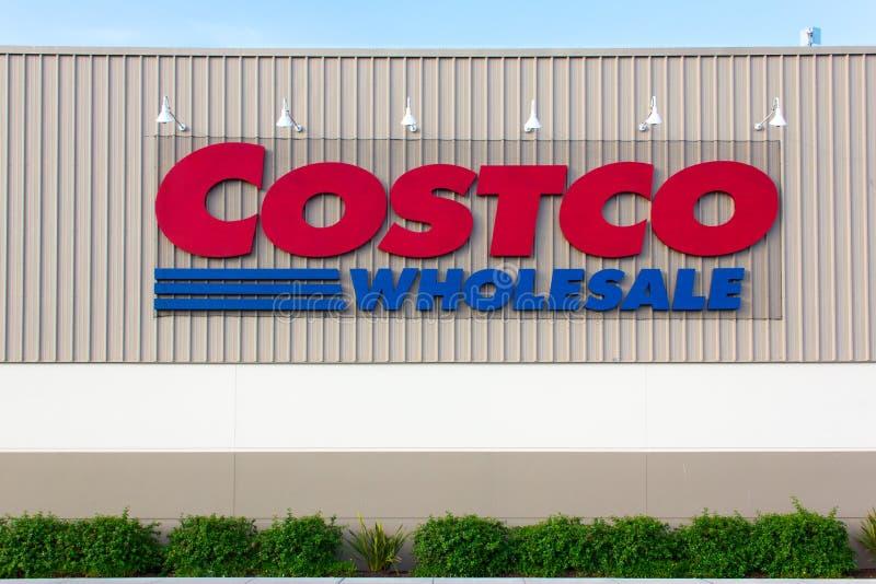 Costco Wholesale store exterior stock images