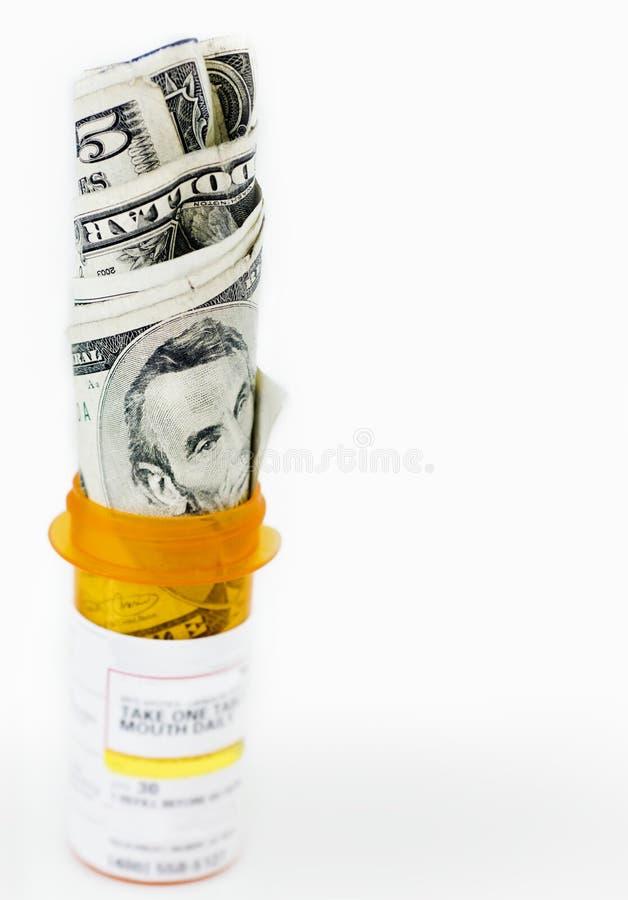 Coste de cuidado médico foto de archivo libre de regalías