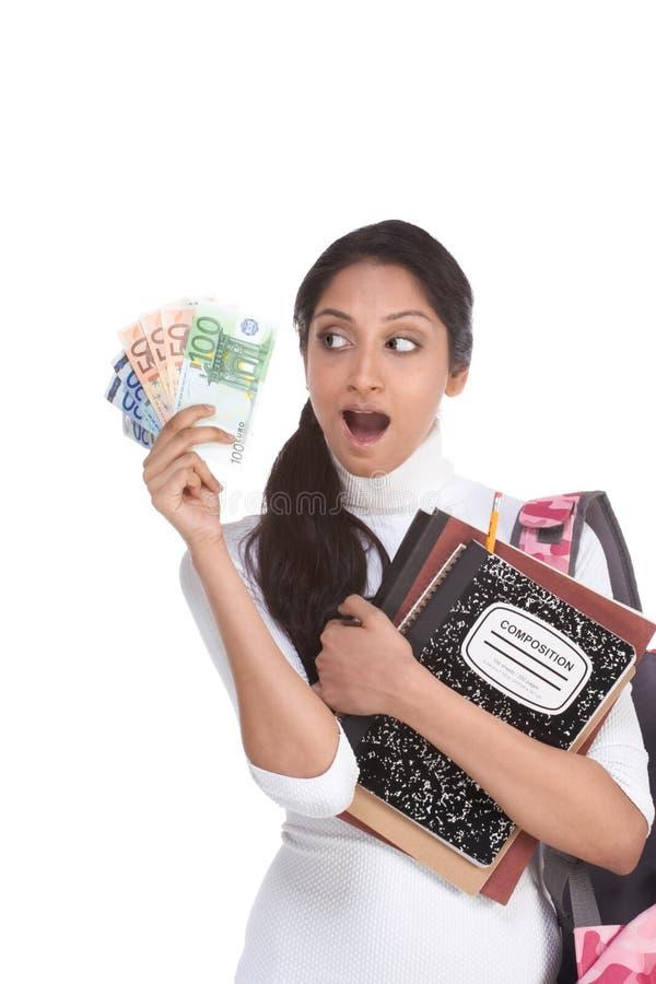 Coste de préstamo y de ayuda económica del estudiante de la educación imágenes de archivo libres de regalías