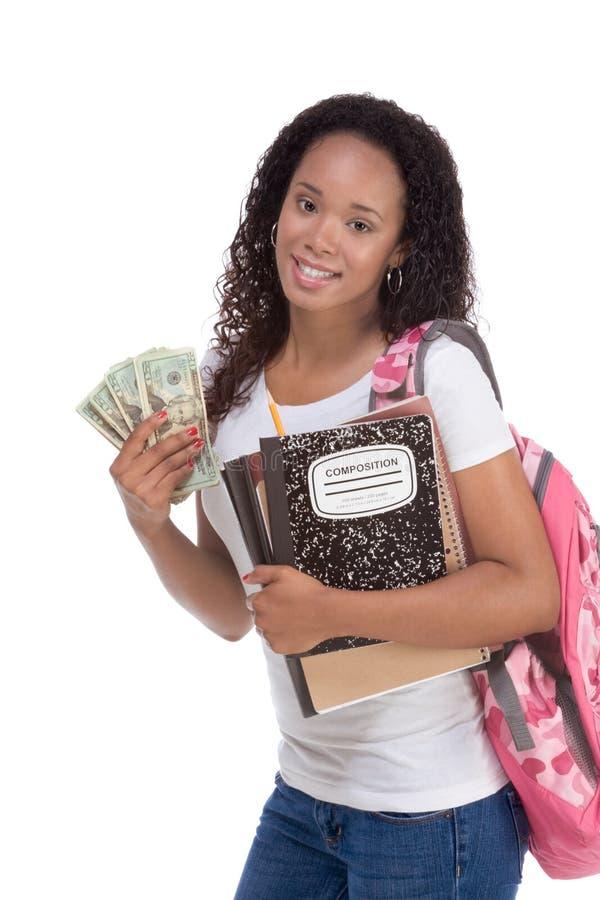 Coste de préstamo y de ayuda económica del estudiante de la educación foto de archivo libre de regalías