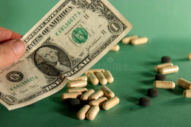 Coste De Salud En Los E.E.U.U. Fotos de archivo libres de regalías