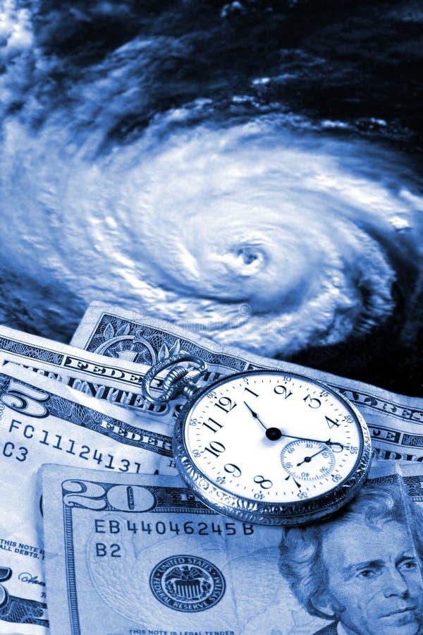 Coste de un huracán fotografía de archivo libre de regalías