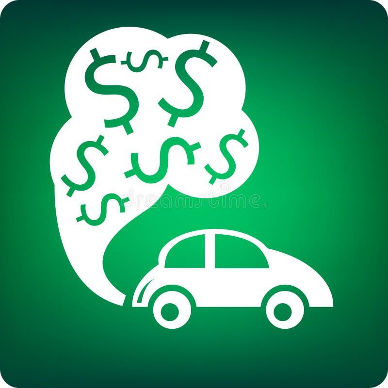 Coste del combustible libre illustration