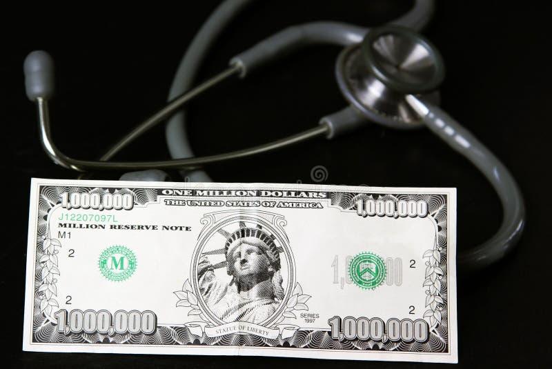 Coste del cuidado médico imagen de archivo libre de regalías