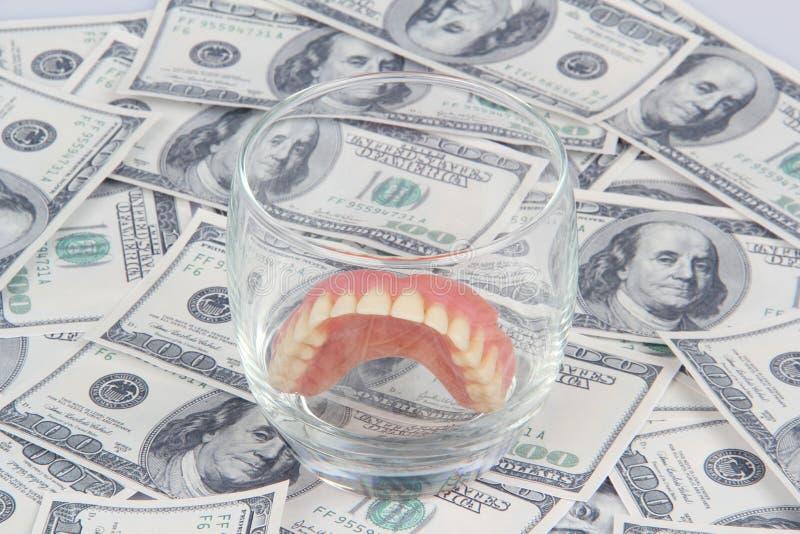 Coste dental de la salud foto de archivo libre de regalías