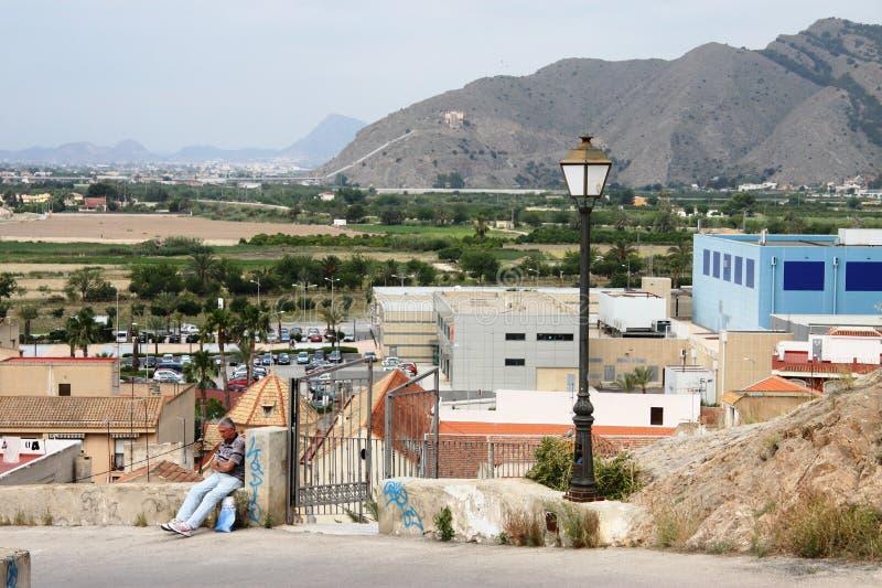 Costela de Orihuela, Espanha imagem de stock