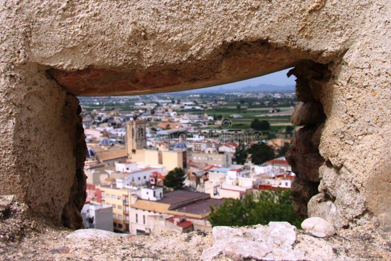 Costela de Orihuela, Espanha fotos de stock royalty free