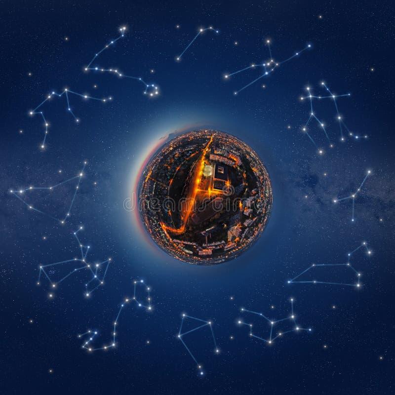 Costellazioni dello zodiaco royalty illustrazione gratis