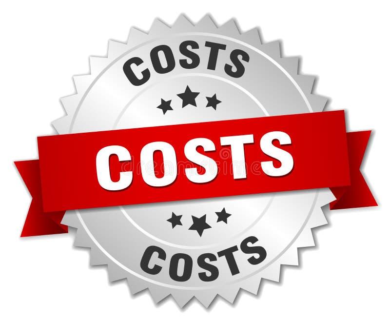 costes ilustración del vector