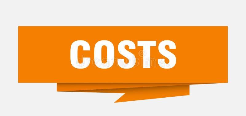 costes stock de ilustración