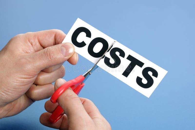Costes del corte fotos de archivo