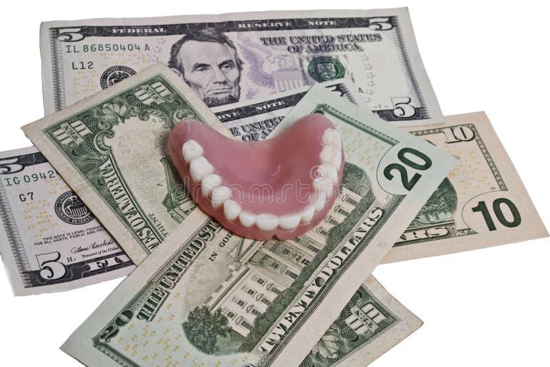 Costes dentales fotos de archivo