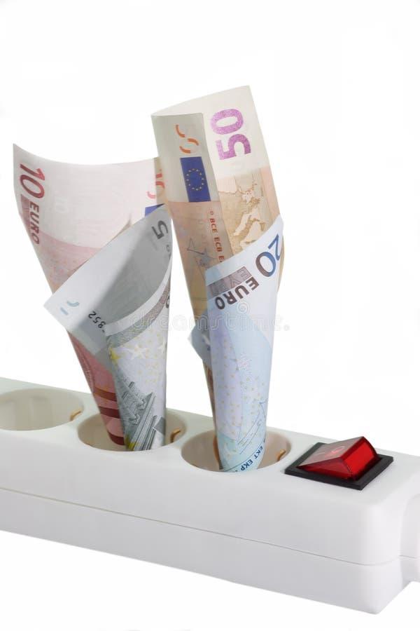 Download Costi energetici fotografia stock. Immagine di soldi, euro - 3893274