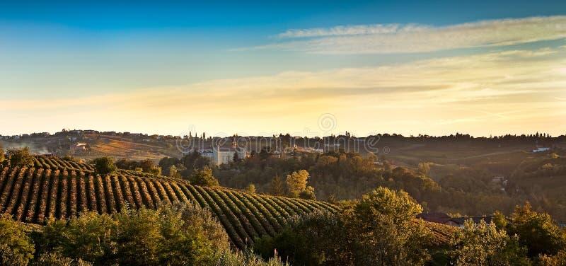 Costigliole d'Asti (Piedmont, Italy) royalty free stock photo