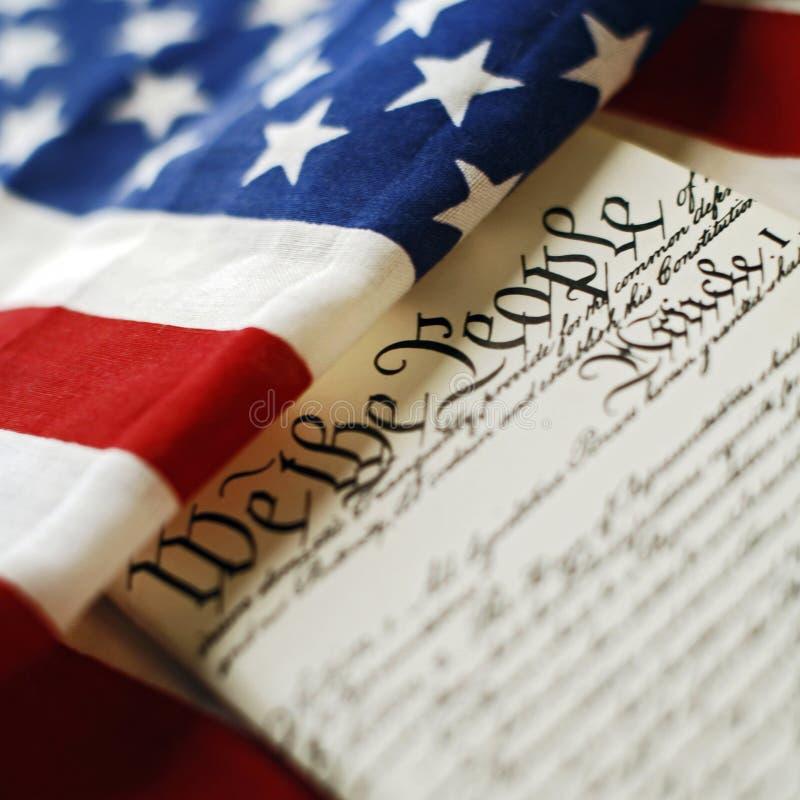 Costituzione immagini stock