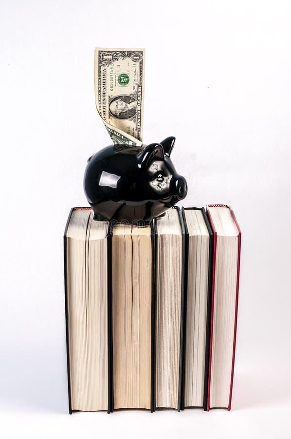 Costo di istruzione fotografia stock libera da diritti